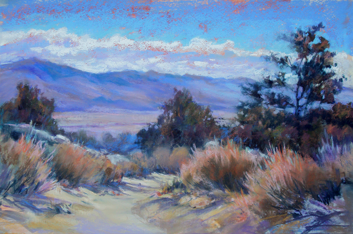Looking Toward the Inyo Mountains - Frances Nichols