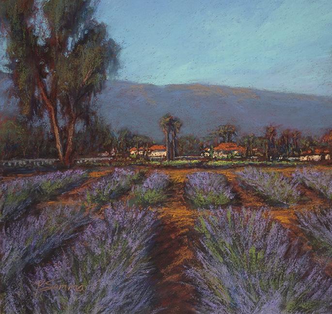 Ojai Lavender Field - Paula Somma