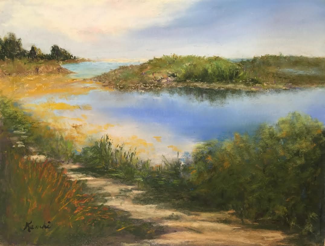 Malibu Lagoon - Virginia Kamhi