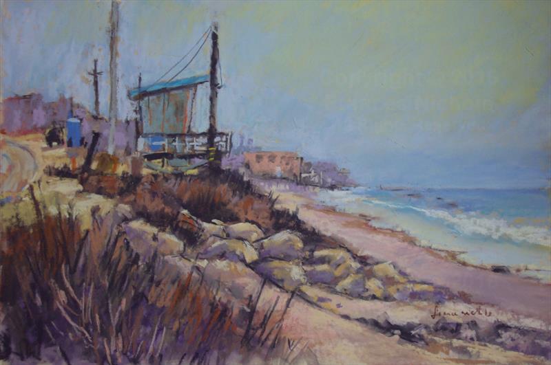 June Gloom in Malibu - Frances Nichols