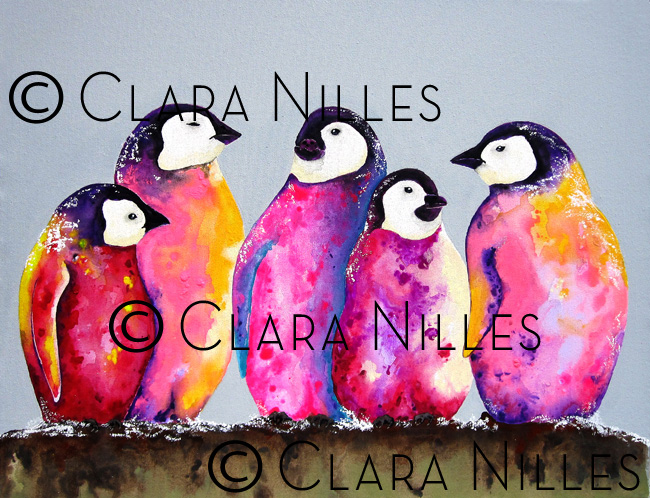 Haute Penguins - Clara Nilles