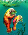 Manatees Munch! - Clara Nilles