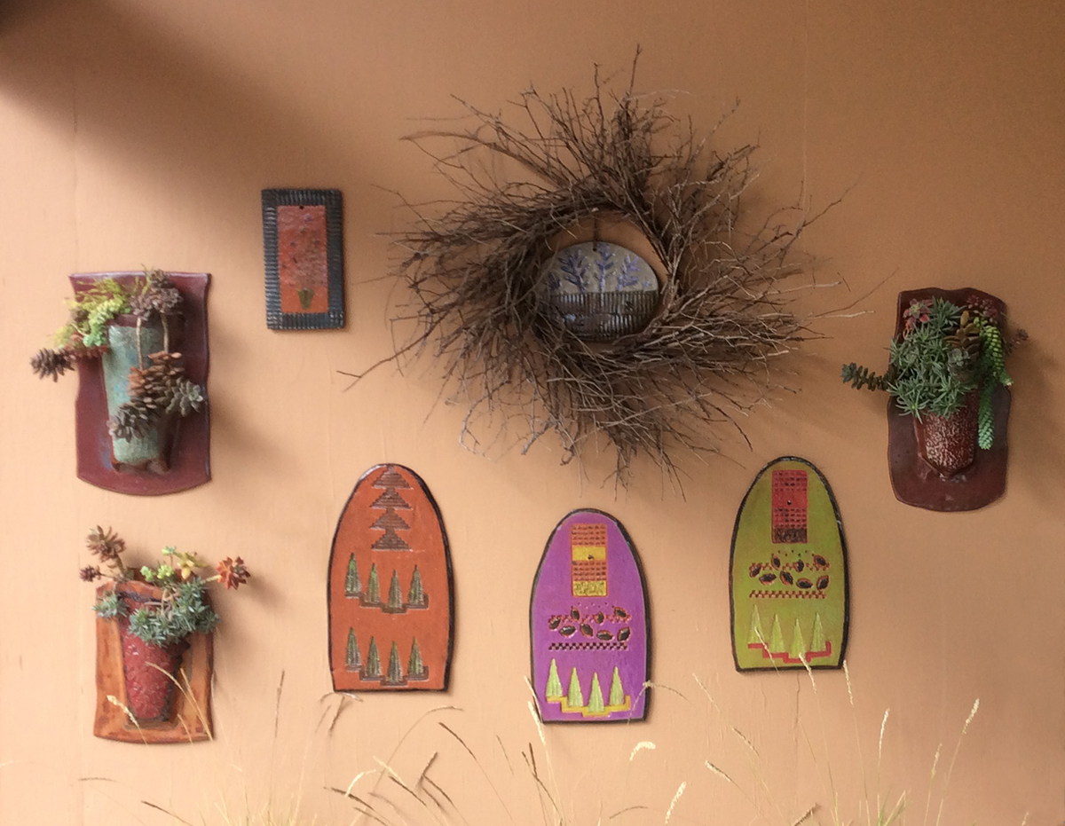 Clay Wall Art - June Treherne