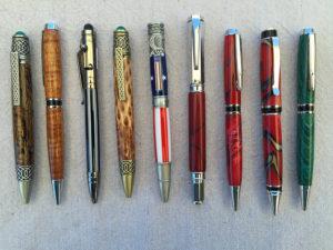 Steve Abshear Wooden Pens