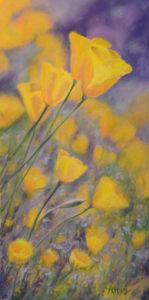 Poppies on a Hillside - Lynn Attig