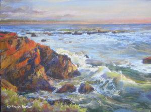 Cambria Sunset - Paula Brown