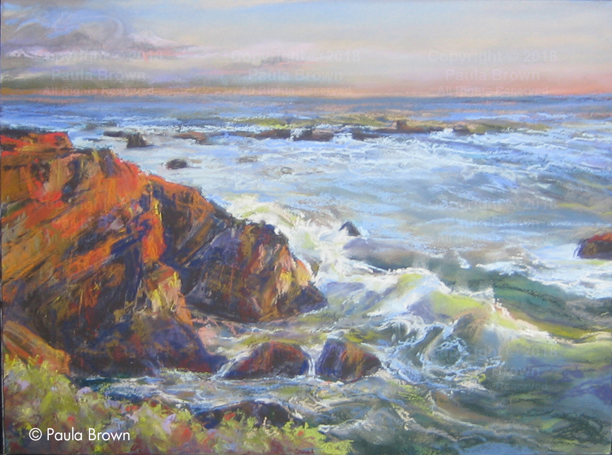 Cambria Sunset - Paula Brown