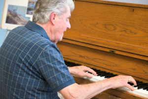 Pianist Jack Ramsey