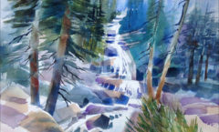 Whitney Portal Waterfall - Frances Nichols