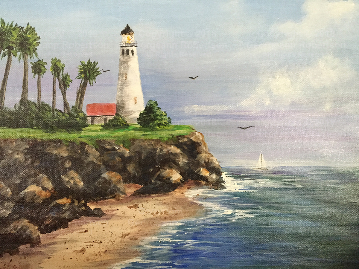 Point Vicente Lighthouse - Georgeann Robertson