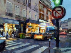Early Evening, Central Paris - Desmond O'Hagan