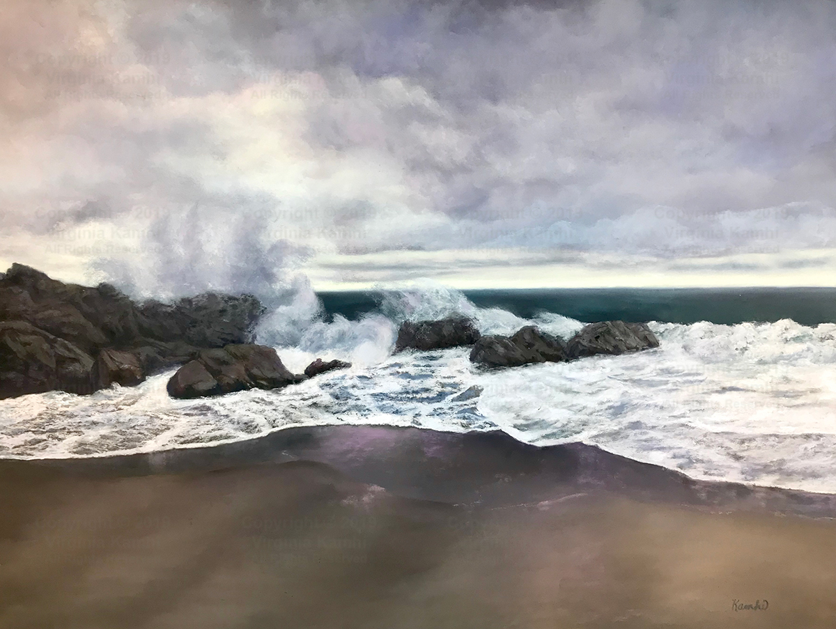 Sycamore Cove Morning - Virginia Kamhi