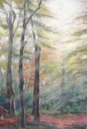 Original Framed Pastel Painting