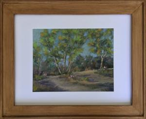 Original Framed Pastel Painting