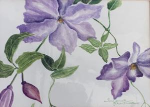 Original Botanical Watercolor