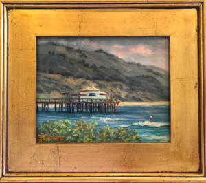 Framed Original Pastel Painting, 8x10
