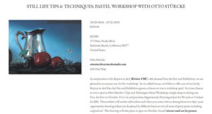 Two-Day Pastel Workshop With Otto Sturcke