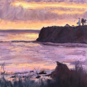 Framed Original Pastel Painting