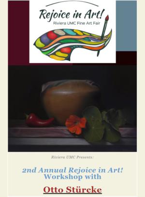 Three-Day <em>Rejoice in Art!</em> Pastel Workshop with Otto Stürcke